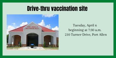 Drive Thru Vaccine Site
