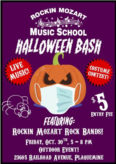Rockin' Mozart Halloween Bash