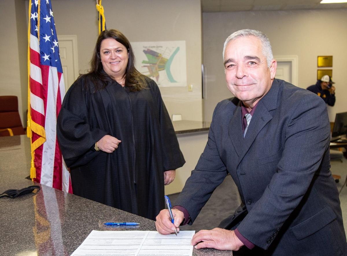 Ron LeJeune and Judge Elizabeth Engolio.jpg