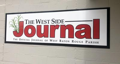 West Side Journal building banner