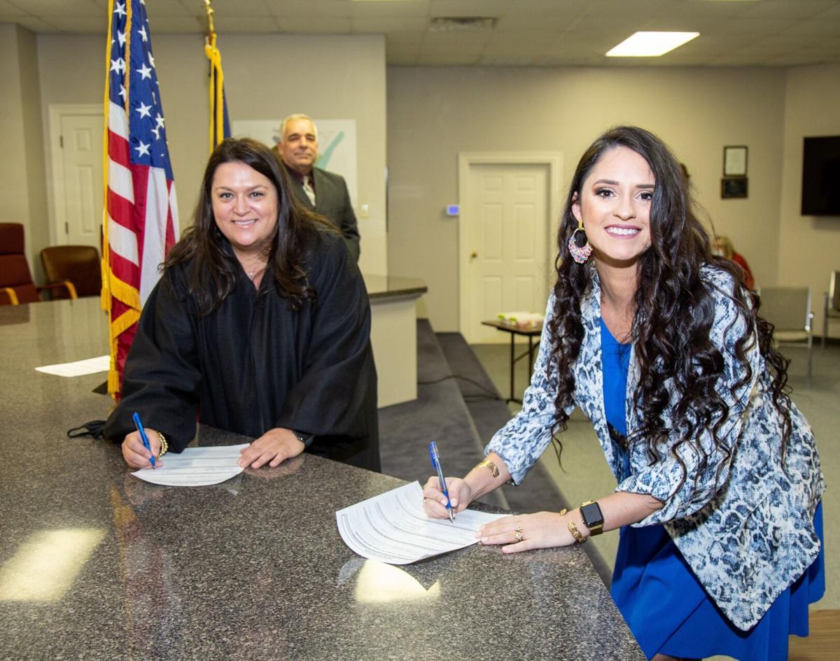 Bliss Kelley and Judge Elizabeth Engolio.jpg