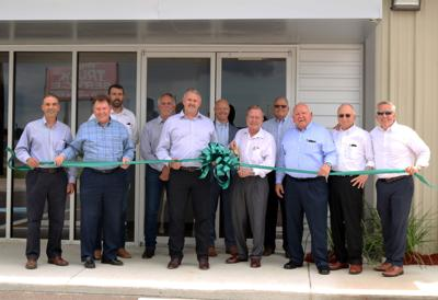 Turner Industries ribbon cutting