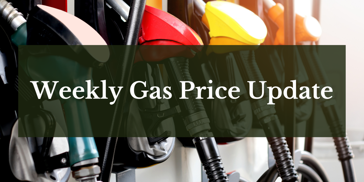 Weekly Gas Price Update stock