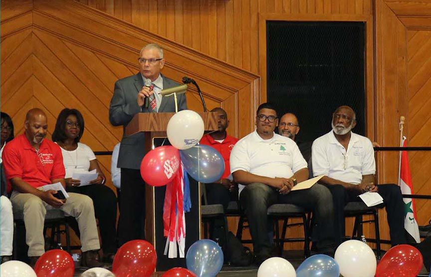 Community comes together to  celebrate National Day of Prayer