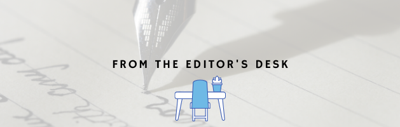 From the editor's desk