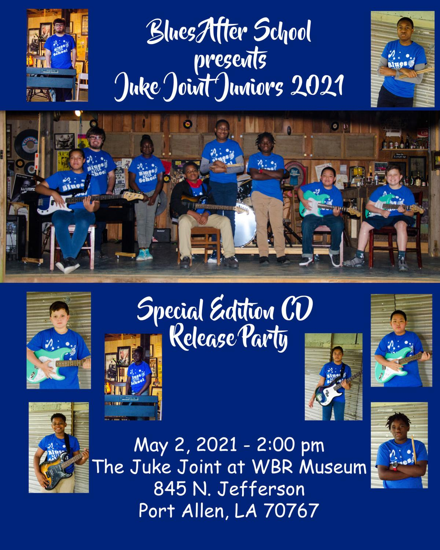 Blues After School concert poster