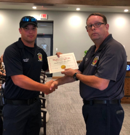 Fire fighters awarded for saving lives