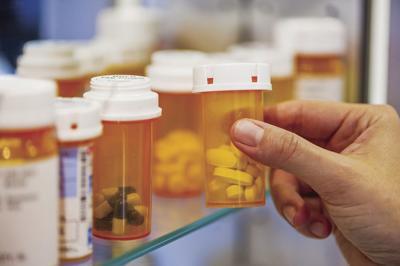 Prescription pills dummy
