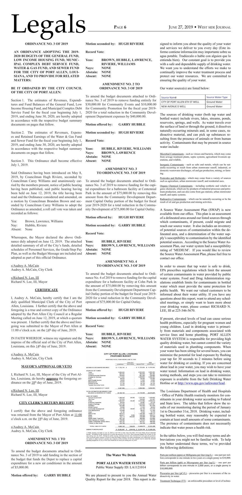 Bids & Notices 06.27.19