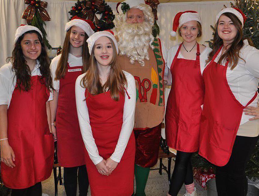 Brusly Lions Club Annual Santa Breakfast
