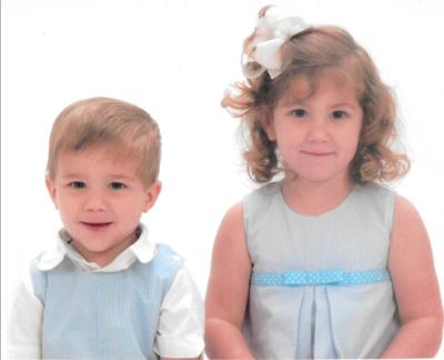 Ava and Jacob Saucier