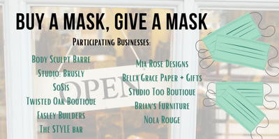 SBC buy a mask give a mask