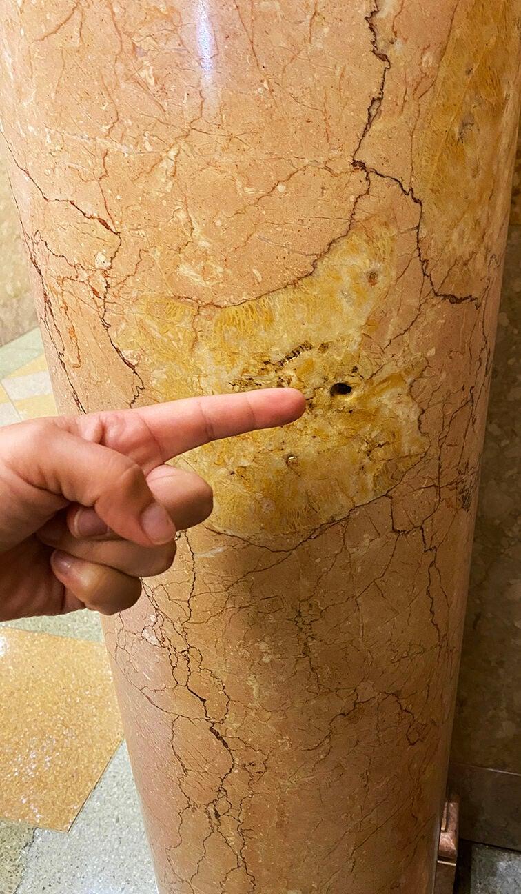 Bullet Hole from Long Assasination .jpg