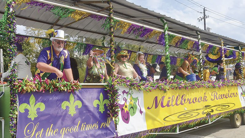 Millbrook enjoys Mardi Gras parade