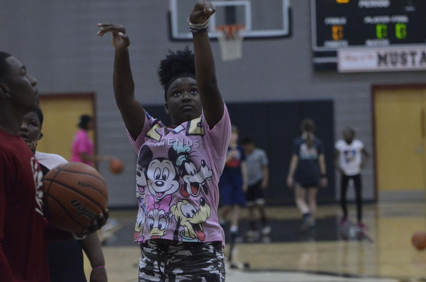 Stanhope basketball camp