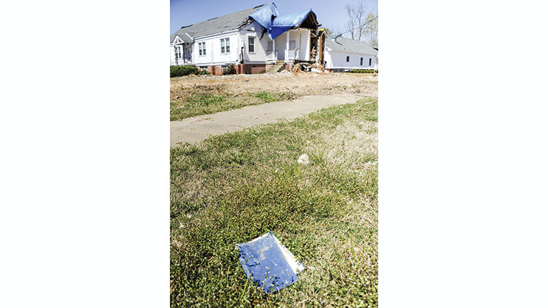 First Presbyterian Church plans groundbreaking this summer and same look before tornado