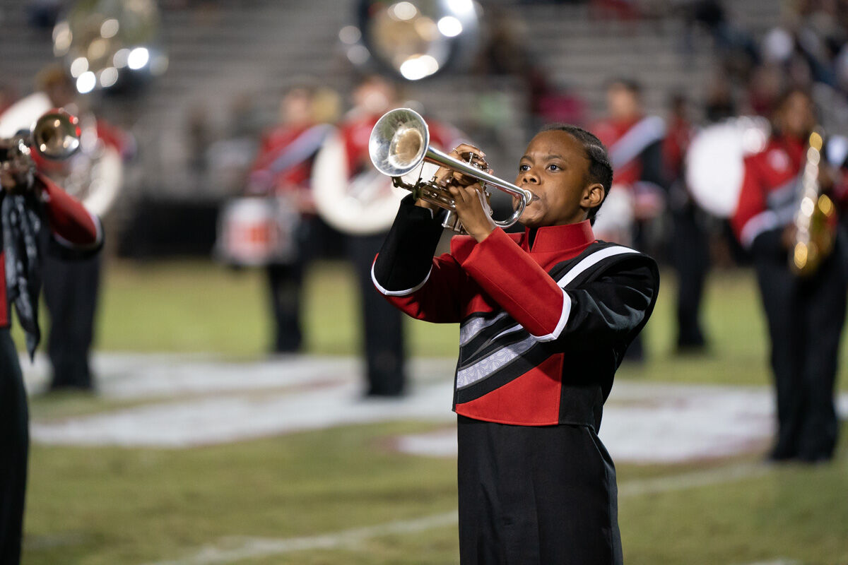 Stanhope Elmore Band at BRHS vs SEHS