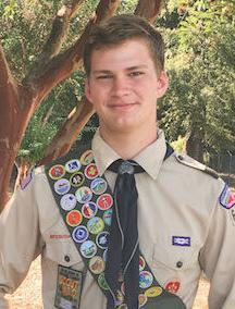 Eagle Scout Garrison Clark