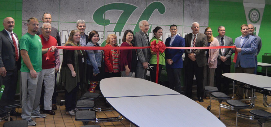 Holtville cafeteria cuts ribbon at county school board meeting
