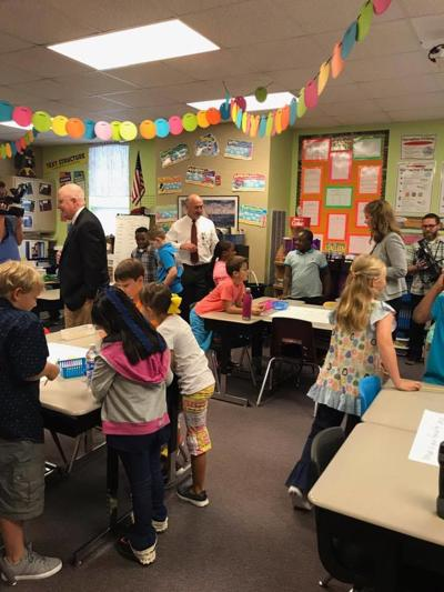 Aweek into school, Superintendent Dennis says things are well