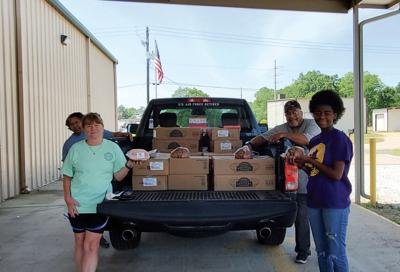 Elmore County Food Pantry donation