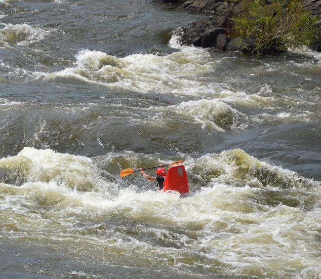 Whitewater festival brings crowds, parties, action to land