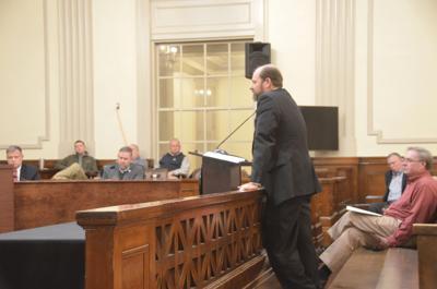 Elmore County revenue commissioner Lee Macon