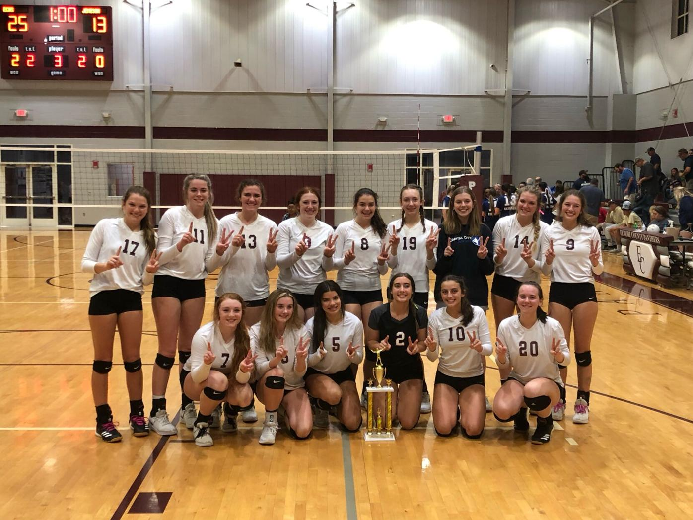 Elmore County volleyball championship