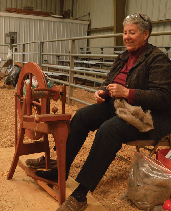 Students spend day on the farm