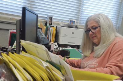 ECHS bookkeeper Ann Cassaras