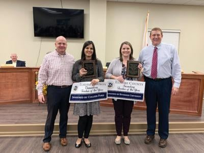 Elmore County Teachers of the Year
