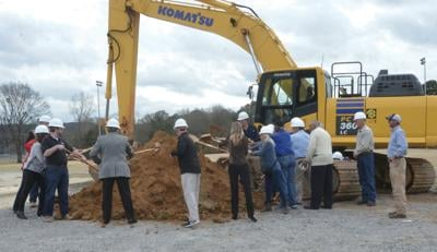 Wetumpka athletic complex breaks ground