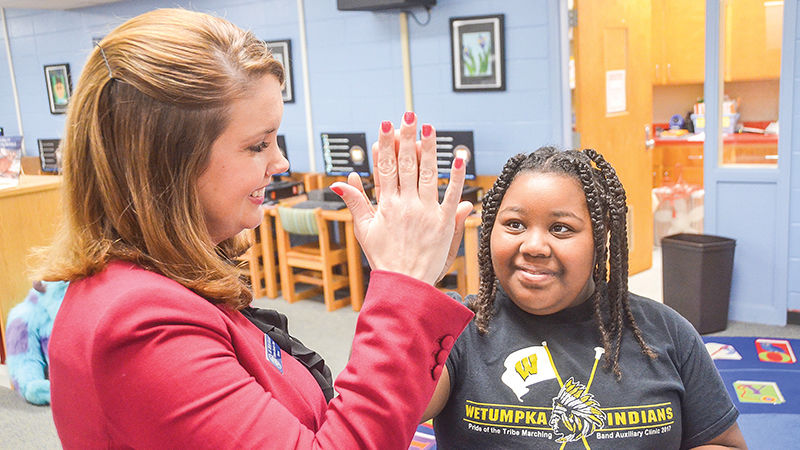 Wetumpka Elementary's Bonnie Sullivan believes 3 focus points have proven successful