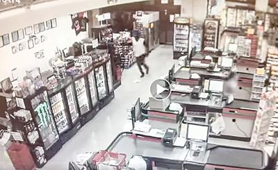 Eclectic Piggly Wiggly robbed