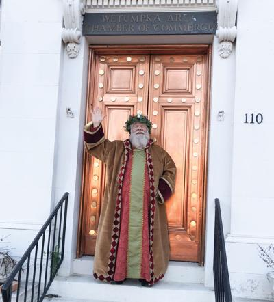 Father Christmas at Wetumpka's Dickens Christmas