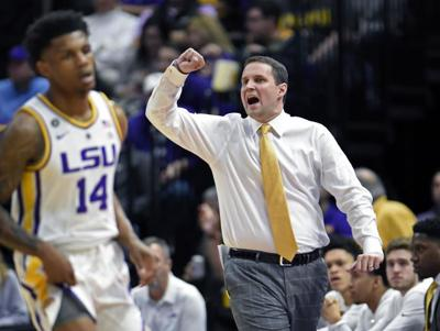 LSU Head Baseketball Coach Will Wade Eager to Return to Campus