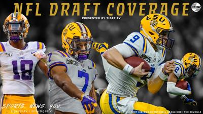 More LSU Football records, an SEC record and teammates staying together: Day Two of the 2020 NFL Draft