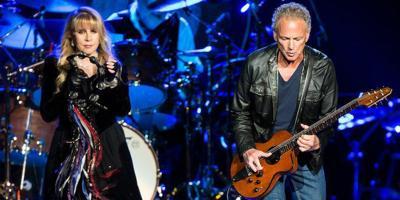 Stevie Nicks on stage