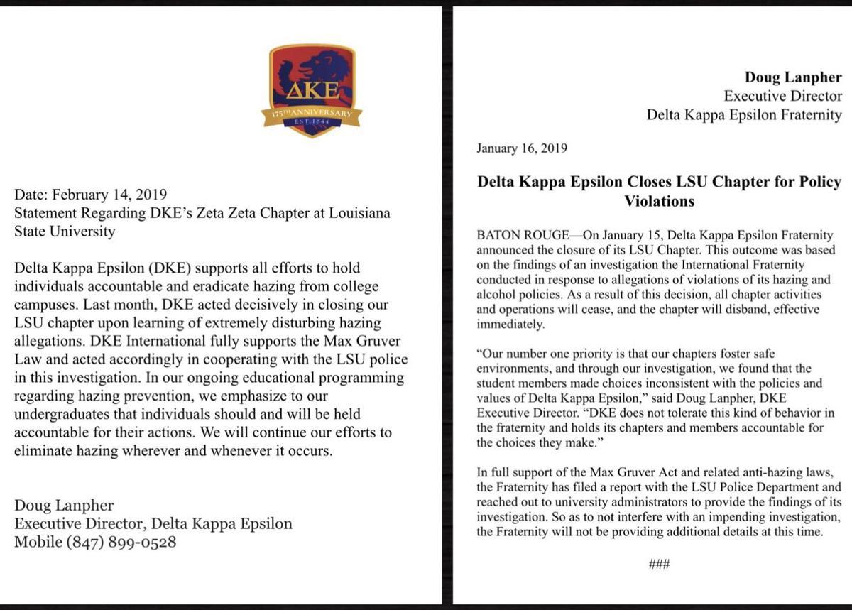 DKE statements