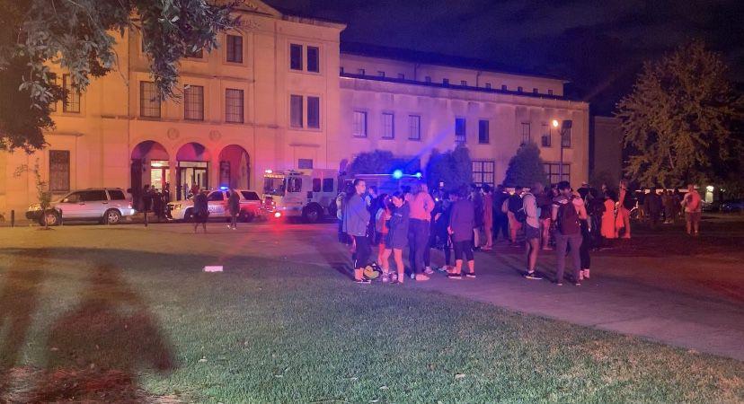 Music & Dramatic Arts Building evacuated