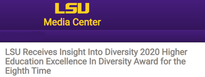 LSU Receives HEED Award