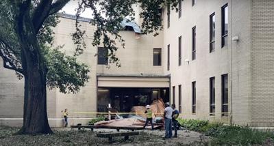 LSU School of Music sees roof damage