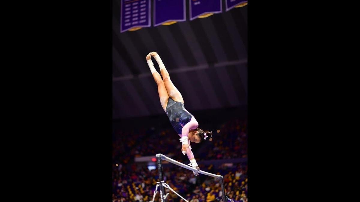 Mental heath problems in athletes: former LSU gymnast Bailey Ferrer's story