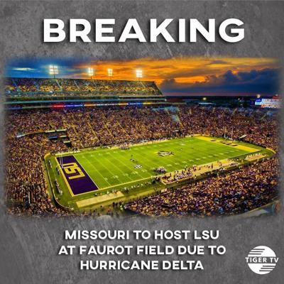 LSU v. Missouri football game to be played at Missouri