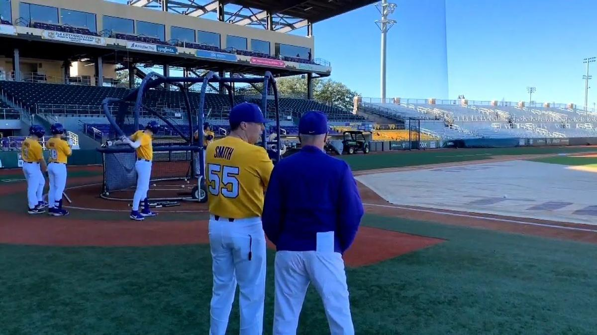 No Salary, No Benefits, LSU's Volunteer Hitting Coach Eddie Smith might be the Joe Brady of Baseball