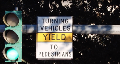 Traffic Signal on LSU's Campus