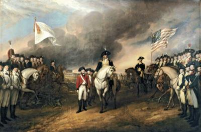 Revolutionary War burial site uncovered during construction