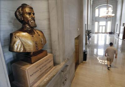 Tennessee lawmakers debate Confederate bust removal