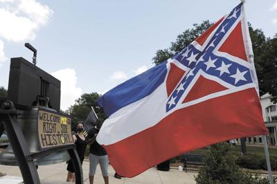 Mississippi surrenders Confederate symbol from state flag