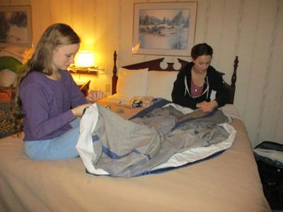 The art of sewing 1860s style